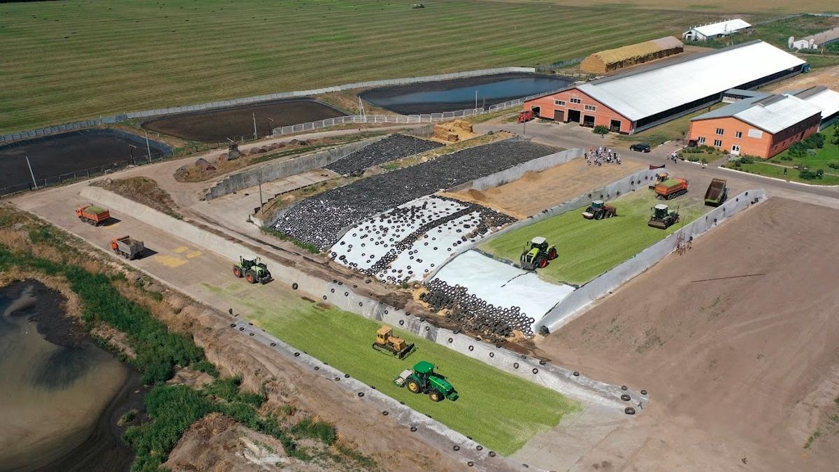 LNZ Silage Workshop: ідеальний набір техніки для силосування від фермерського господарства Острійківське фото 5 LNZ Group