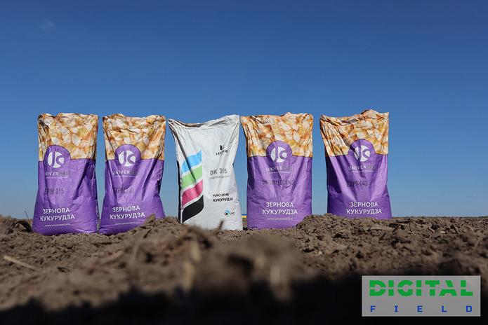 На Digital Field висіяли найбільше демополе з гібридами кукурудзи фото 1 LNZ Group